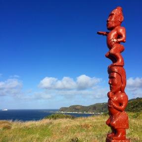 Pouwhenua Marking Oruaiti Pā