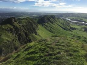 Te Māta Peak, Resting Place Of Rongokako (Seen In Landform)