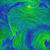 Wind Patterns Near NZ