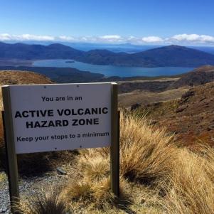 Tongariro National Park (erupt 2012)