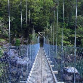 Swing bridge, location can't remember