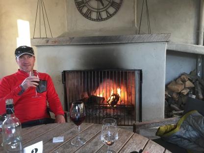Allan Scott Family fireplace