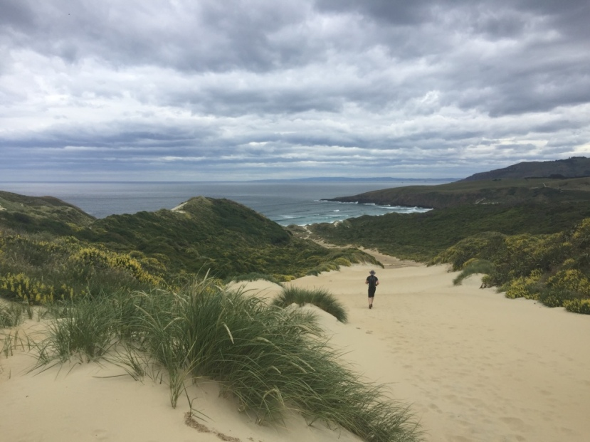 The large dune to the bay