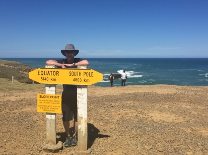Southernmost point of NZ