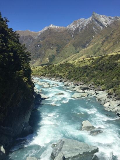 Glacial stream