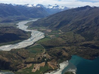 Glacial valley