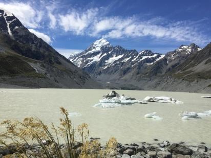 Hooker Glacier terminus