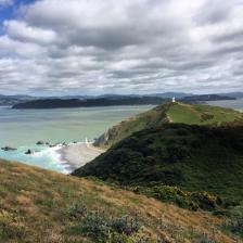 Pencarrow Head and lighthouse