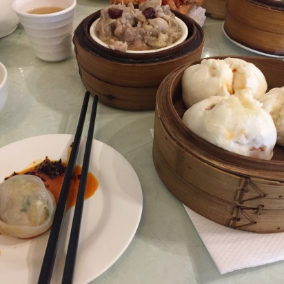 Dim sum at the Dragon