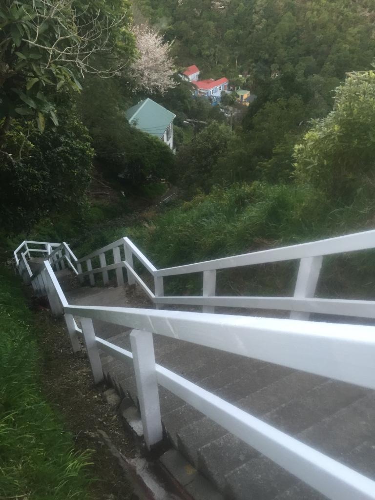 Secret stairs