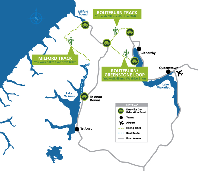 Milford map